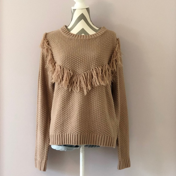 858bfd07007cc Endless Love Sweaters - Fringe Knit Sweater